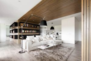 contact interieur houten
